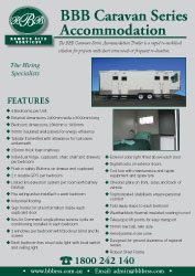 Caravan Series Accommodation Flyer