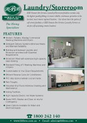 Laundry / Storeroom Flyer