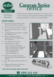 BBB Caravan Office Flyer