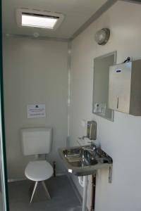 BBB Caravan Series Amenities Toilet View