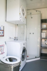 Caravan Series Exploration Facility - Bathroom/Laundry
