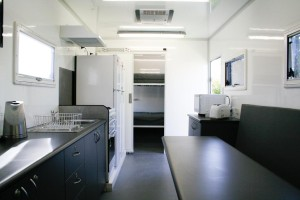 Caravan Series Exploration Facility - Kitchen/Dining