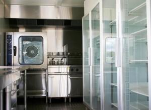 Off-Road Mobile Kitchen Inside