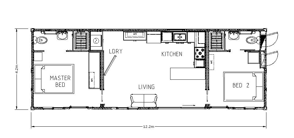 The Gem - Floor Plan